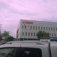 Photo taken at Yamaha Motor Asian Center by Chompoonakbin on 8/5/2016