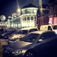Photo taken at Улица Большая Дмитровка by Sergei Spasibo @. on 1/10/2013
