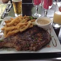 Photo taken at Cafe du palais by Séb F. on 6/25/2014