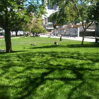 Photo taken at Yerba Buena Gardens by EKurze on 4/14/2013