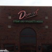 Photo taken at Demos' Restaurant by Logan C. on 9/17/2013