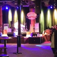Photo taken at The Stage on Broadway by Logan C. on 2/15/2013