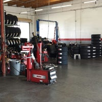 Photo taken at Allen Tire Company by Stephen B. on 5/20/2013