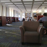 Photo taken at Langson Library (LLIB) by Laura A. on 3/9/2016