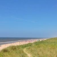 Photo taken at Strand Egmond Aan Zee by Niels G. on 7/18/2013