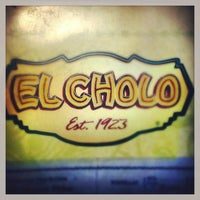 Photo taken at El Cholo by fresh s. on 1/14/2013
