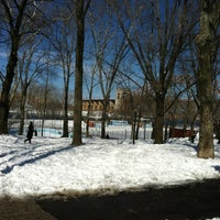 Photo taken at Astoria Park Pool by Angie V. on 2/9/2013