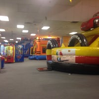 Photo taken at Bounce Realm by Eddie F. on 2/13/2015