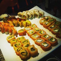 Photo taken at Sushi Roll by Stephanie F. on 5/27/2015