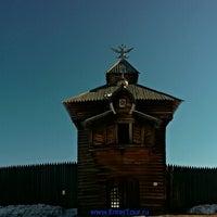 Photo taken at Тальцы by Baikal T. on 3/16/2015