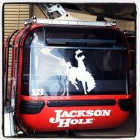 Photo taken at Jackson Hole Mountain Resort by Bonnie C. on 3/16/2013