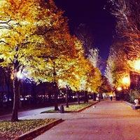 Photo taken at Gorky Park by Oleg S. on 10/11/2013