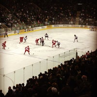 Photo taken at Ralph Engelstad Arena by Dr. Steve W. on 2/3/2013