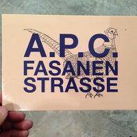 Photo taken at A.P.C. Store by Melenie Y. on 10/17/2013