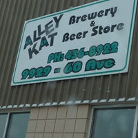 Photo taken at Alley Kat Brewing Company by Ainsley H. on 12/6/2012