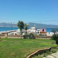 Photo taken at Akkum Liman, Ozbek Koyu by Elif on 5/1/2016