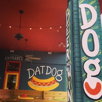 Photo taken at Dat Dog by Bryan D. on 7/6/2013