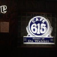 Photo taken at Cafe 615 (Da Wabbit) by Bryan D. on 3/29/2015