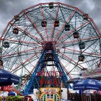 Photo taken at Deno's Wonder Wheel by Maurice on 6/8/2013
