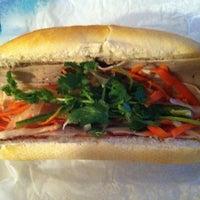 Photo taken at Kim Saigon Sandwiches by Laurent P. on 12/17/2012