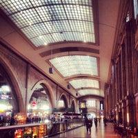 Photo taken at Leipzig Hauptbahnhof by Marc G. on 1/12/2014