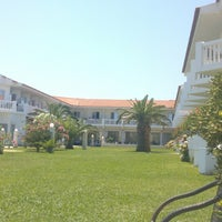 Photo taken at Chryssana Beach Hotel by Gregorey S. on 7/26/2013