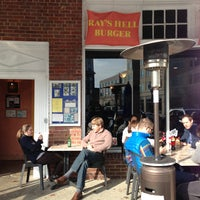 Photo taken at Ray's Hell Burger by Jie Y. on 12/28/2012