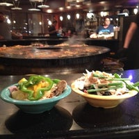 Photo taken at HuHot Mongolian Grill by Masha S. on 4/28/2013