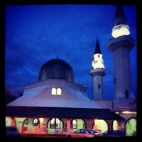 Photo taken at Masjid At-Taqwa by Muhammad N. on 1/2/2013
