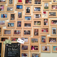 Photo taken at El Pelon Taqueria by Emily L. on 12/12/2012