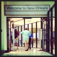 Photo taken at Louis Armstrong New Orleans International Airport (MSY) by Paula A. on 8/22/2013