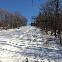 Photo taken at Shawnee Mountain Ski Area by Jeffrey L. on 1/21/2013