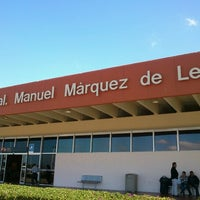 Photo taken at Aeropuerto Manuel Márquez de León (LAP) by Sergio P. on 1/4/2013