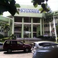 Photo taken at Universitas Djuanda Bogor by gemilar a. on 7/17/2013