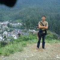 Photo taken at Taman Wisata Air Panas Guci by Ari F. on 12/23/2012