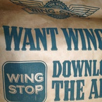 Photo taken at Wingstop by Ernesto G. on 1/22/2013