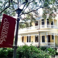 Photo taken at College of Charleston by Eric M. on 9/15/2012