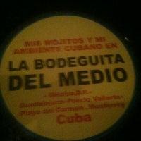 Photo taken at La Bodeguita del Medio by Vero Y. on 12/10/2012