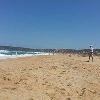 Photo taken at Spiaggia Torre dei Corsari by Michael P. on 7/9/2014