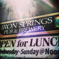 Photo taken at Iron Springs Pub & Brewery by Jeff B. on 8/24/2013
