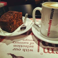 Photo taken at Aroma Espresso Bar by Mehrun S. on 1/20/2013