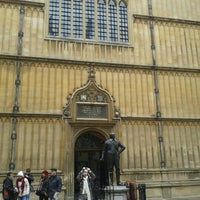 Photo taken at Bodleian Library by Miikael T. on 3/1/2013