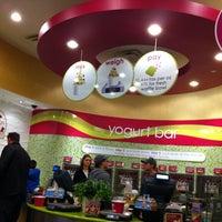 Photo taken at Menchie's Frozen Yogurt - Sweet Apple Village by Bob K. on 1/23/2011