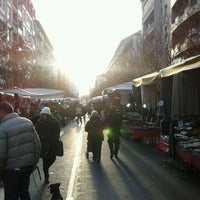Photo taken at Mercato di via Fauche by Federico P. on 12/17/2011