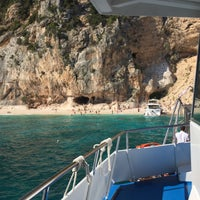 Photo taken at Spiaggia dei Gabbiani by Michele P. on 8/18/2015