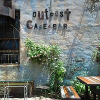 Photo taken at Outpost Café and Bar by Ryan B. on 6/8/2013