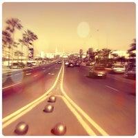 Photo taken at La Corniche de Casablanca by Chris K. on 12/16/2012