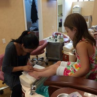 Photo taken at Boutique Nails by Kristin T. on 8/2/2014