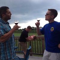 Photo taken at Hiddencroft Vineyards by Aaron S. on 7/12/2014