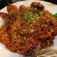 Photo taken at Shin Chon Garden Restaurant by H on 4/28/2013